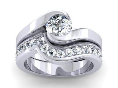 טבעת שלושה חלקים