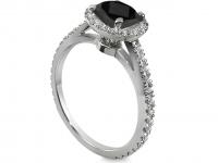 טבעת זהב צהוב יהלום קארט להצעת אירוסין