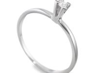 טבעת אירוסין זולה בעיצוב קלאסי