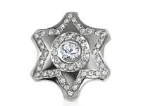 תליוני מגן דוד זהב ויהלומים