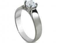 טבעת יהלום קלסית להצעת אירוסין