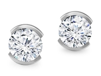 עגילים יהלומים גדולים
