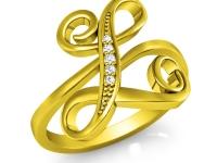 תכשיטי זהב עם שמות