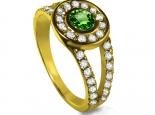 טבעת מעוצבת תכשיטי יהלומים ואבני חן