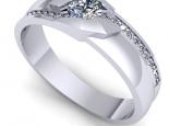 טבעת BAND לגבר.