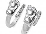 טבעת מתנה ליולדת- טבעת רגל תינוק