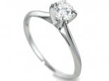 טבעות אירוסין טבעת יהלום מודל טיפני