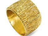 טבעת נישואין רחבה עגולה