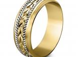 טבעות זהב תואמות לגבר ולאישה