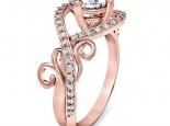 טבעת אירוסין וינטג עדינה -טבעות וינטג