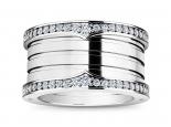 טבעת יהלומים עבה