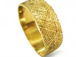 טבעת נישואין מעוצבת דקה טבעת נישואין לגבר ולאישה