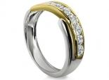 עיצוב מיוחד לטבעת יהלומים