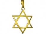 מגן דוד זהב