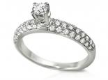 טבעת אירוסין סולייטר עם ילומים