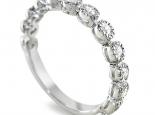 טבעת יהלומים בעיצוב פיירו מילאנו עם יהלומים
