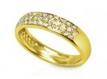 טבעת יהלומים מתאימה לטבעת אירוסין