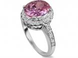 טבעת מעוצבת גדולה ומרשימה דגם דיאנה עם אבן חן מרכזית