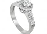 טבעת יהלום מיוחדת להצעת נישואין טבעות אירוסין משובצות