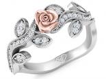 טבעת וינטז בעיצוב פרח