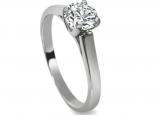 טבעת אירוסין מיוחדת טבעת סוליטר
