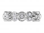 טבעת אינפיניטי בעיצוב וינטג'