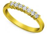 טבעת יהלומים אופנתית
