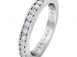 טבעת נישואין משובצת יהלומים- טבעות יהלומים