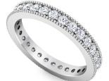 טבעות יהלומים משובצות כל הטבעת