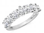 טבעת אינפיניטי משובצת יהלומים