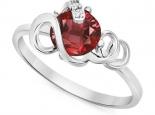 טבעת בעיצוב מיוחד אבן חן יקרה