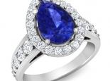 טבעת מלכותית גדולה 8-10 קארט אמרלד רובי ספיר