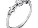 טבעת יהלומים עדינה ומיוחדת