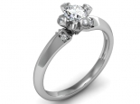 טבעת מעוצבת עדינה ומיוחדת