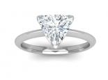 טבעת יהלום משולש