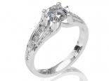 טבעת אירוסין רחבה