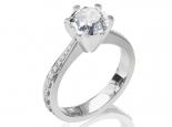 טבעת יהלום  30 לקארט