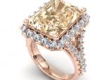 טבעת אבן חן יוקרתית אמרלד ספיר רובי אמטיסט ועוד