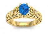 טבעות וינטג  תכשיטים וינטג טבעת אירוסין וינטג