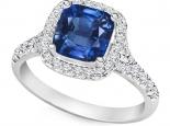 טבעת אירוסין עם אותיות שם אבן חן יקרה אמרלד רובי ספיר
