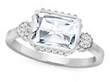 טבעת יהלום מרשימה - טבעת וינטג