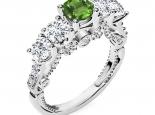 טבעת אירוסין וינטג -טבעות וינטג יוקרתית- אבן חן יקרה