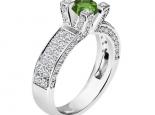טבעת אבן חן יוקרתית