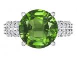 טבעת אירוסין יוקרתית- אבן חן מרכזית