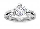 טבעת סוליטר לאישה