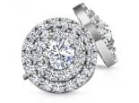 עגילי יהלומים מרשימים ומיוחדים