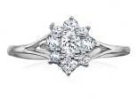 טבעת דיאנה בעיצוב עדין