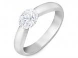 טבעת בסיס פשוטה ויפה להתאמה לכל גודל סוליטר