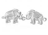 צמיד זהב פילים מזהב