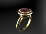 טבעת רובי מיוחדת